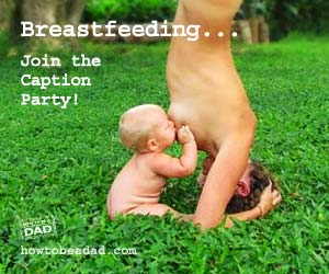 Breastfeeding Caption Party