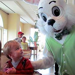 The Easter Bunny Is not a Voracious Monster