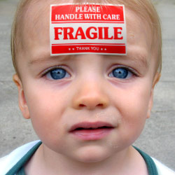 Fragile Baby Proofing