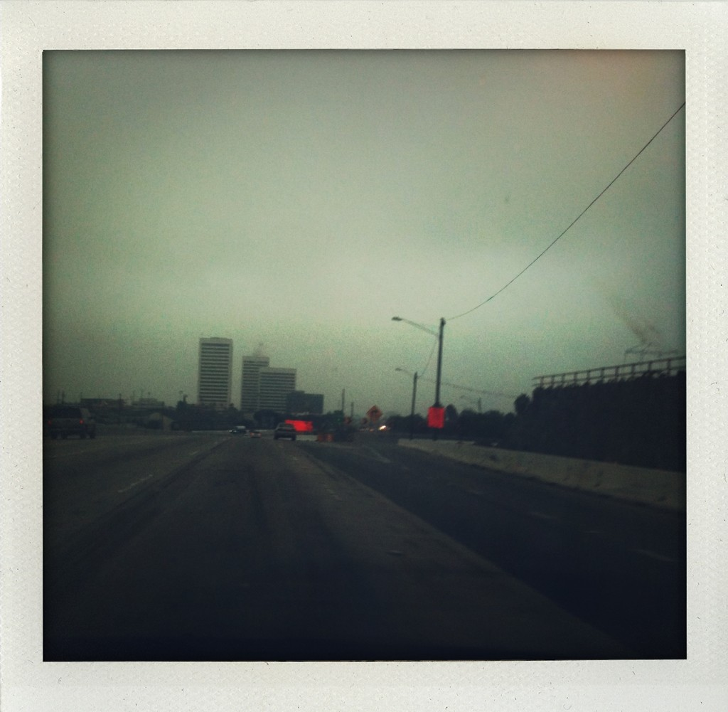 Los Angeles gray skies