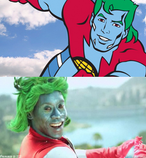 Captain Planet played by Don Cheadle for FunnyorDie.com