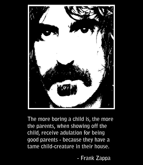 frank zappa talks about good parenting