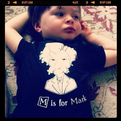 M is for Mark Twain