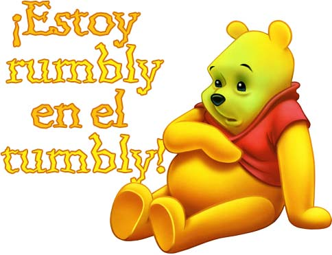 I am rumbly in my tumbly