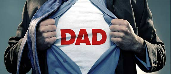 Superhero Dad Costume