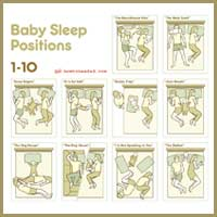 Funny Baby Sleep Positions 1-10