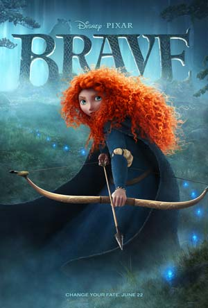 Poster for the Disney's BRAVE