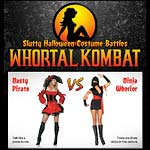 Whortal Kombat Funny Slutty Costume Battles