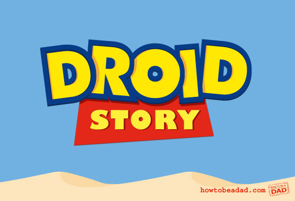 Droid Story Toy Story Movie Title