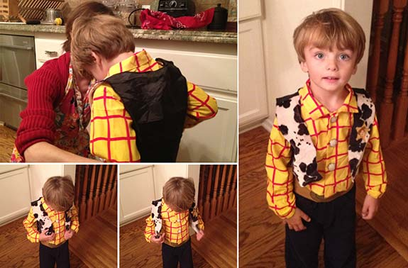 Woody Costume Lucas