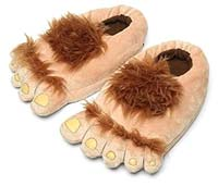 Get your hobbit feet slippers now