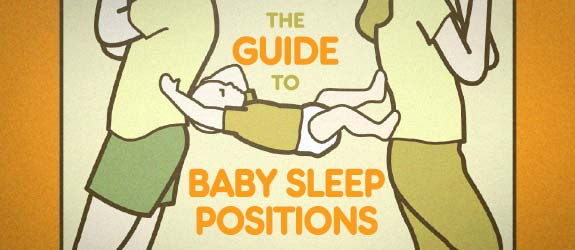Guide to Baby Sleep Positions Book Preview