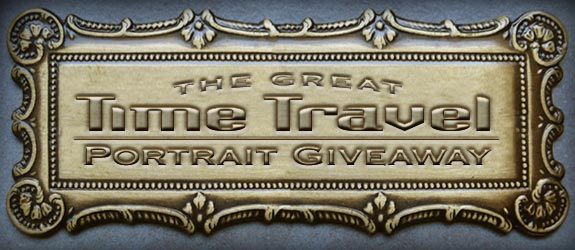 The Great Time Travel Portrait Giveaway & Twitter Party