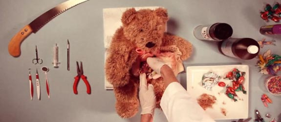 Teddy Has an Operation Video of Stuffed Animal Surgery