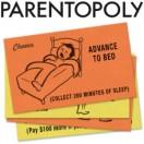 Parentopoly Funny Monopoly Cards