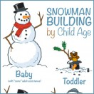 Snowman Building by Child Age