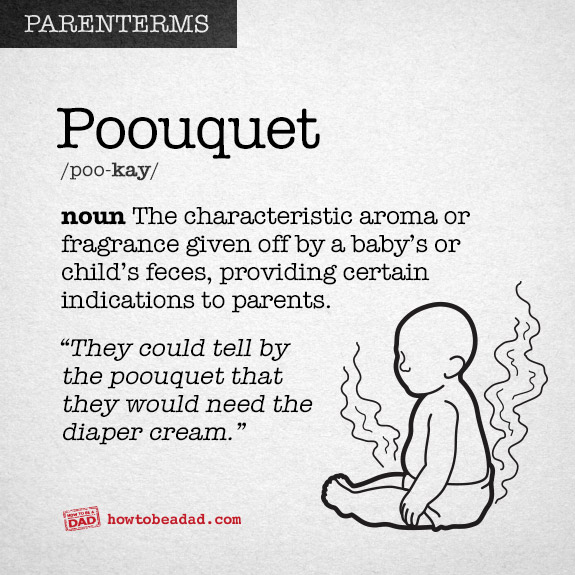 Poouquet Parenterms Funny Made-up Words