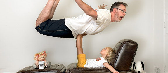 World's Best Father Funny Photo Series