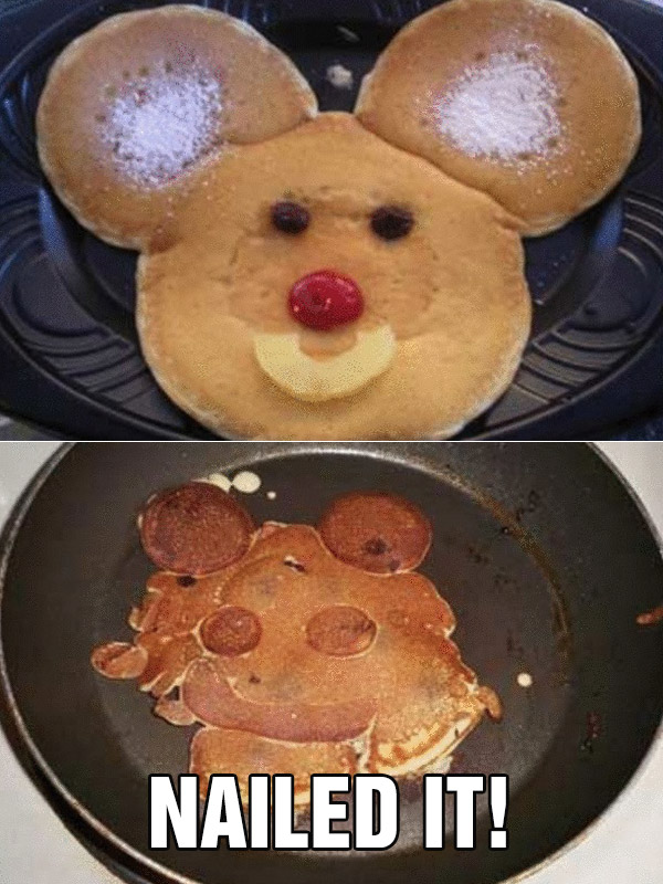 nailed it fail pancakes micky