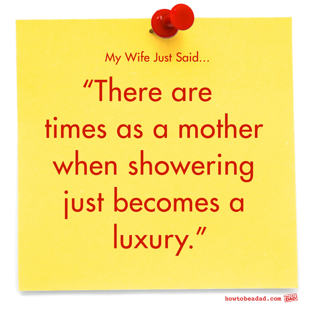 Showering for Mothers