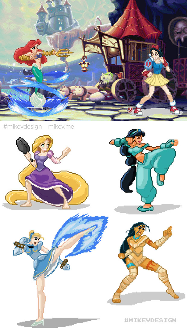 princesses-classic-fighting-game