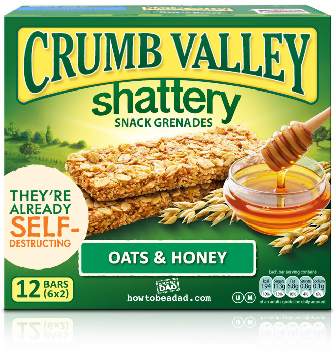Crumb-Valley Nature Valley Granola Bar Funny Parody