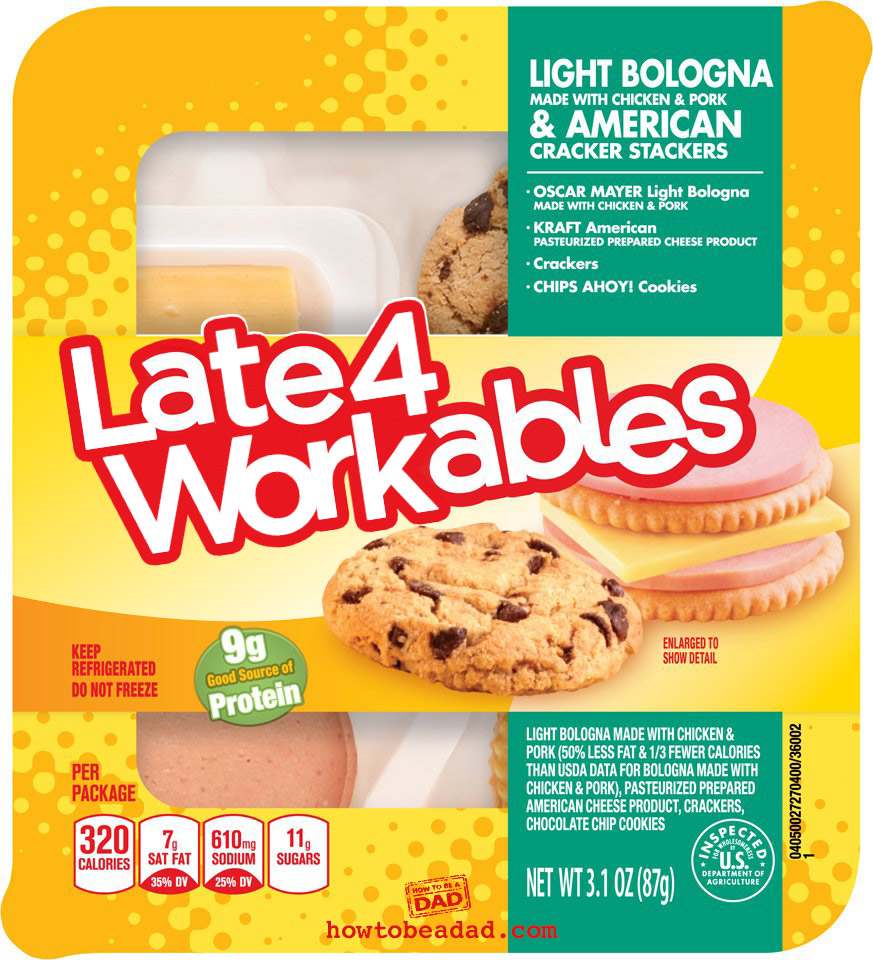 Late4Workables Lunchables Funny Parody