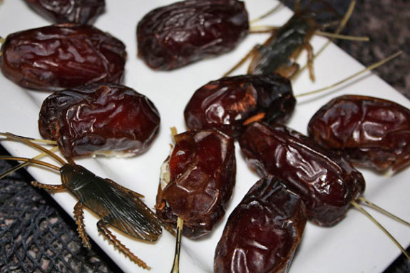gross-halloween-foods-roaches