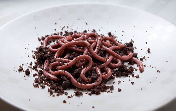 gross-halloween-foods-worms