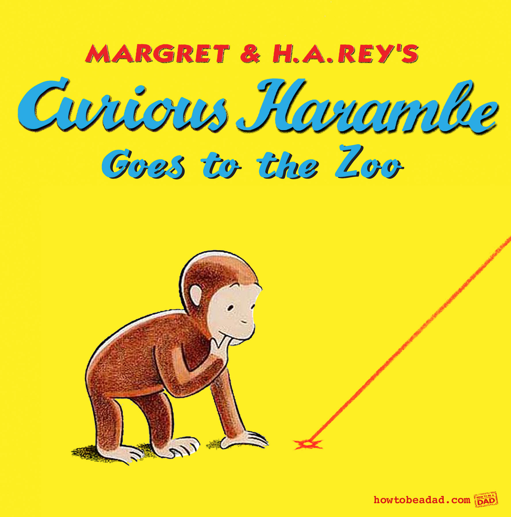 Curious George Book Harambe Parody