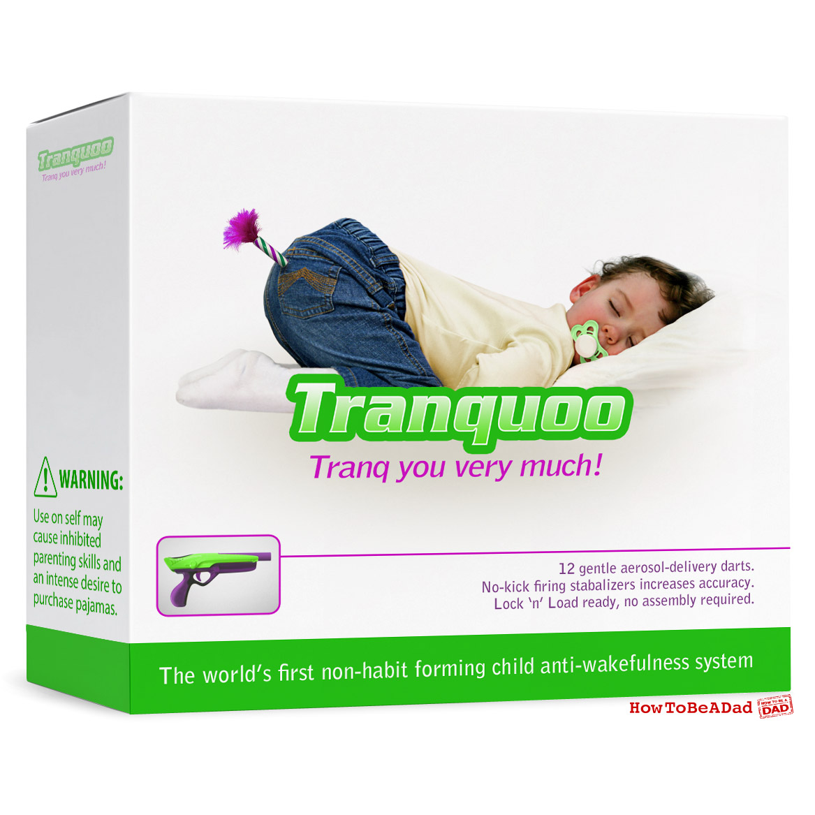 Tranquoo Anti-Wakefulness System funny bad baby product