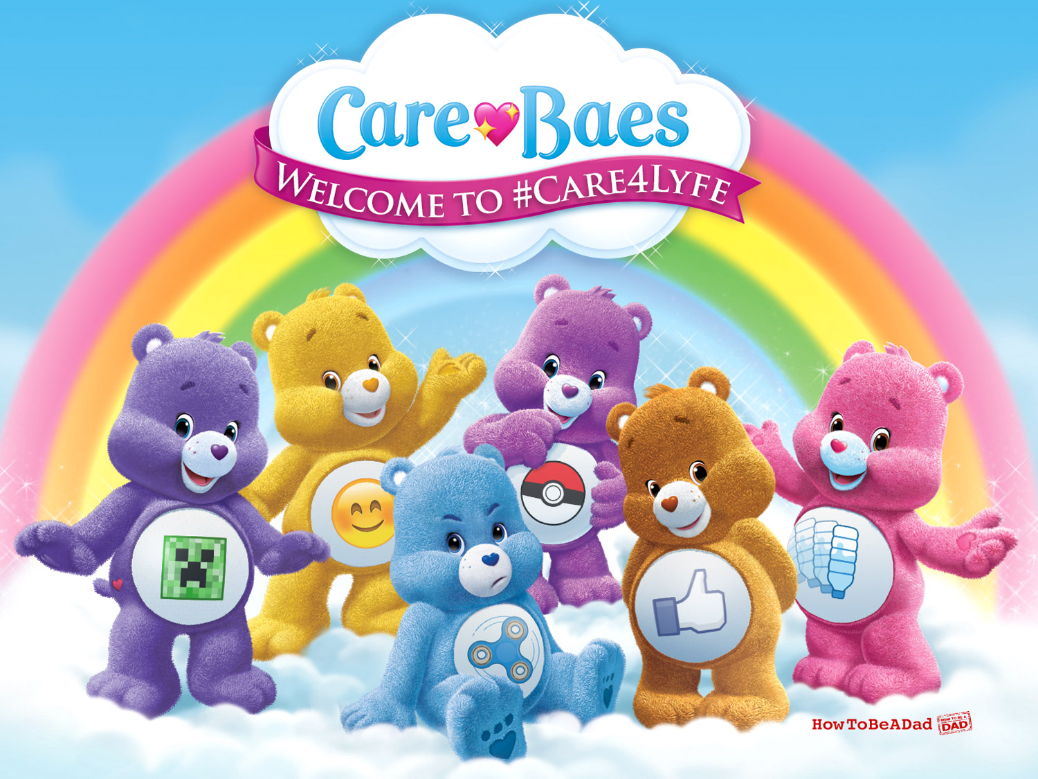Care Baes Care Bears Ruined Childhood