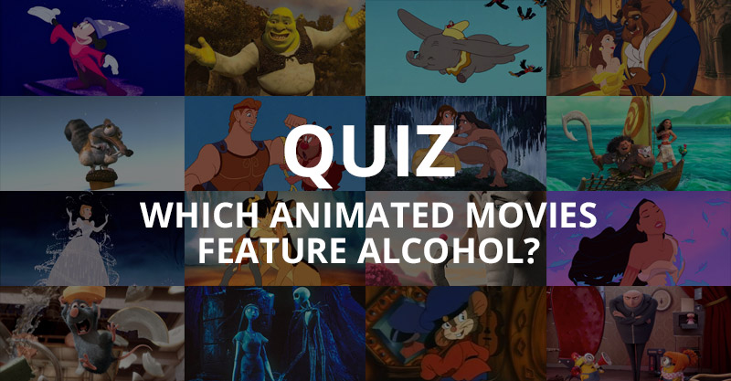 QUIZ: Which Animated Movies Feature Alcohol