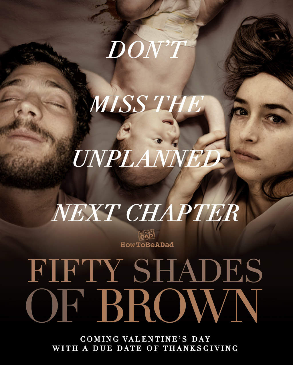 50 Shades of Grey Parody 50 Shades of Brown Poster