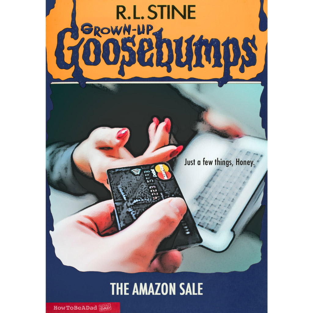 Grown-up R.L. Stine Goosebumps books funny parody Amazon Sale
