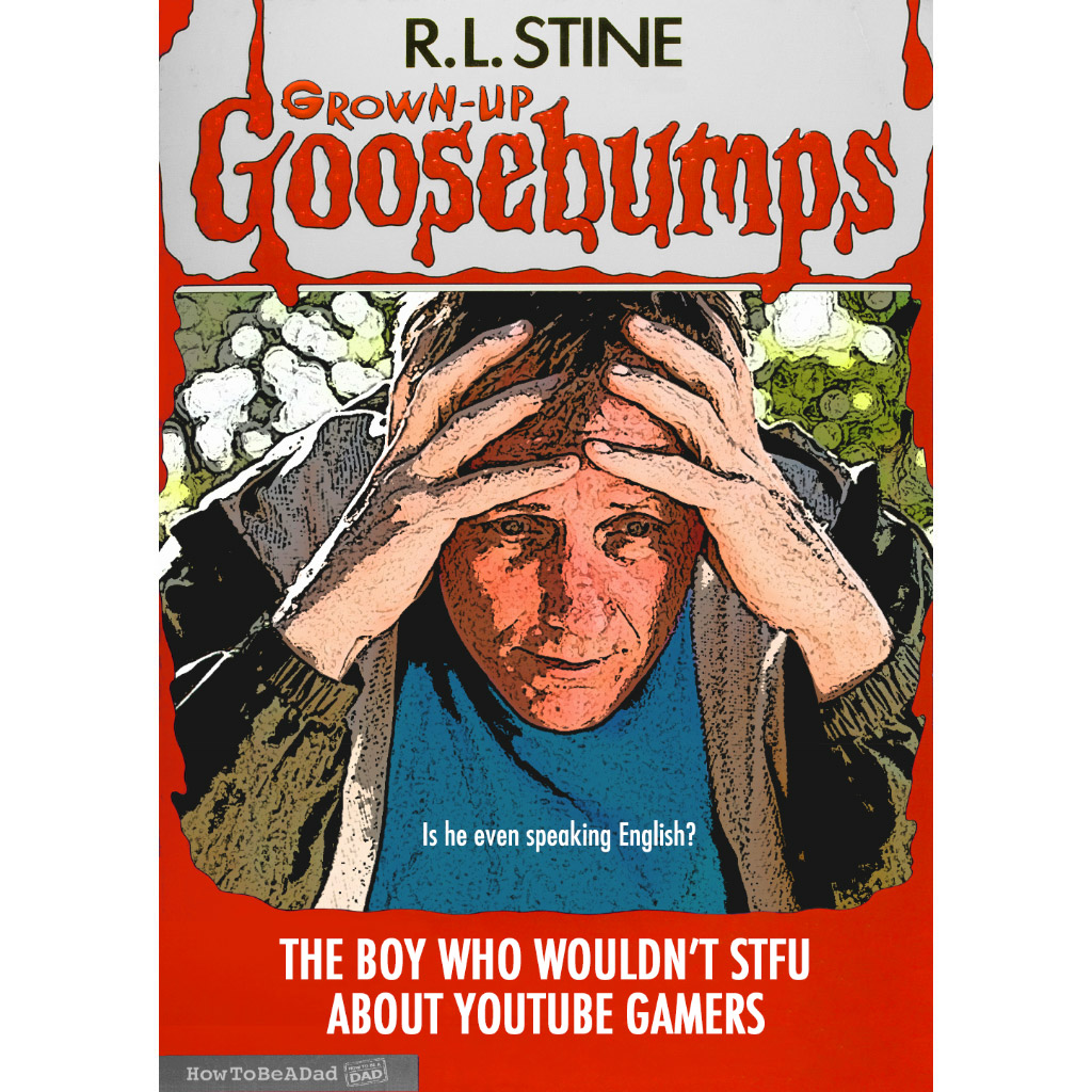 Grown-up R.L. Stine Goosebumps books funny parody youtube gamers
