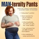 MAN-ternity Pants for men and their food babies