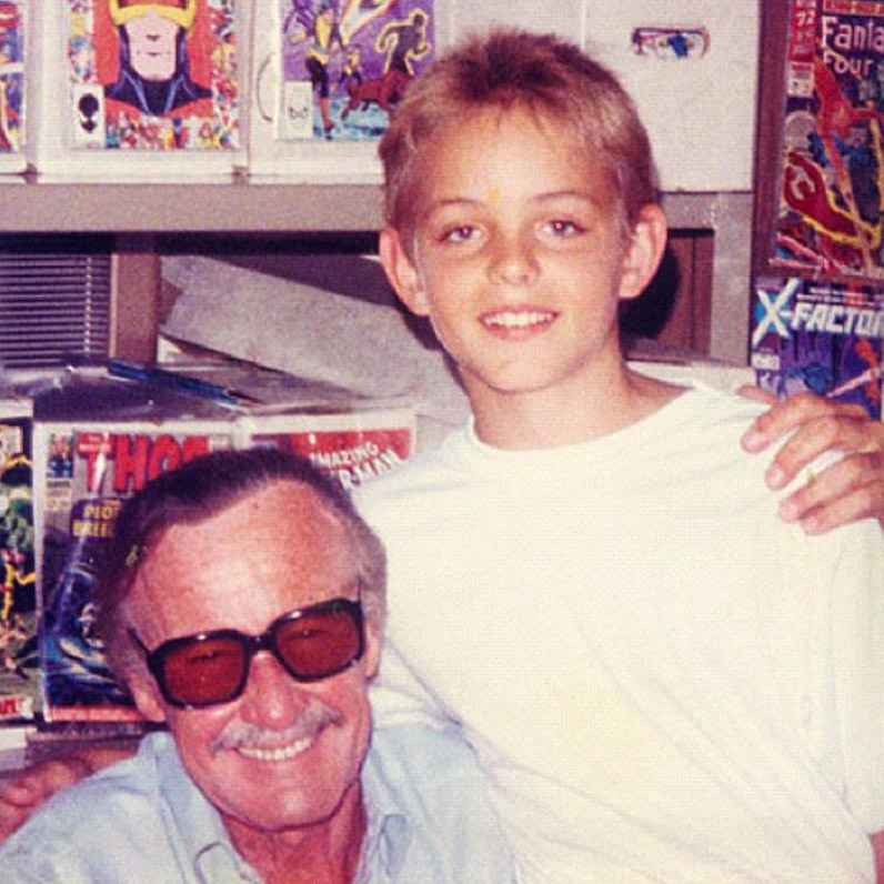 Meeting Stan Lee as a 11 year old