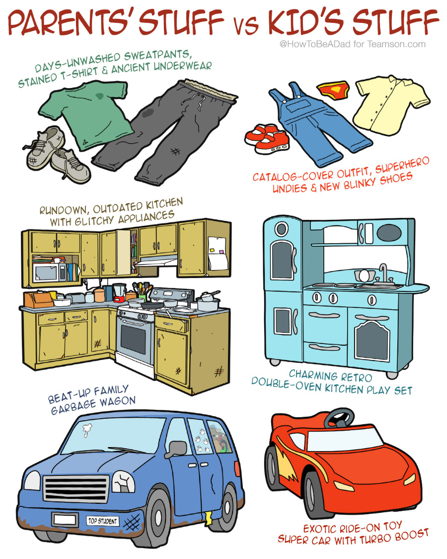 Funny Kids' Stuff vs Parents' Stuff