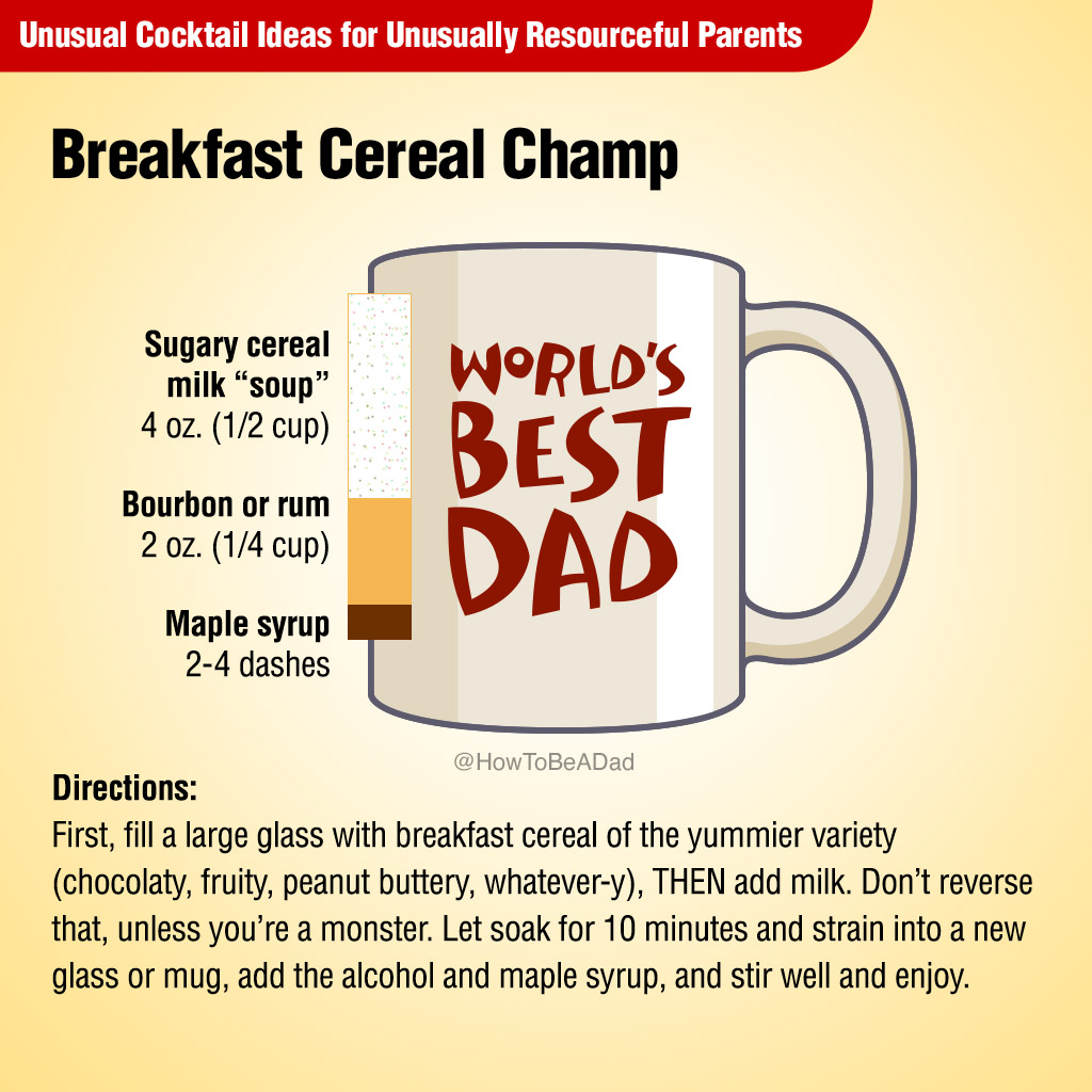 Breakfast Cereal Champ Unusual Cocktail Recipe