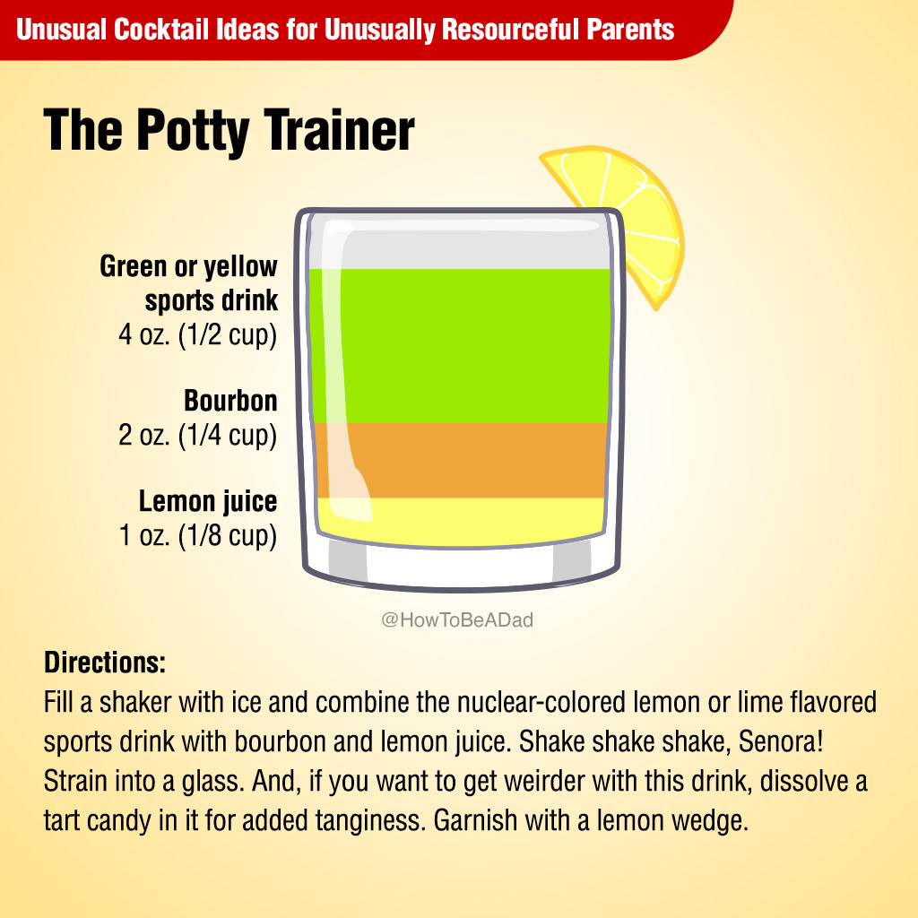 The Potty Trainer Unusual Cocktail Recipe