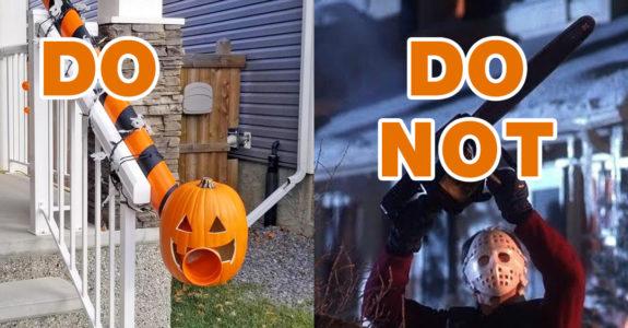 Do S And Do Not S For Halloween 2020 Howtobeadad Com